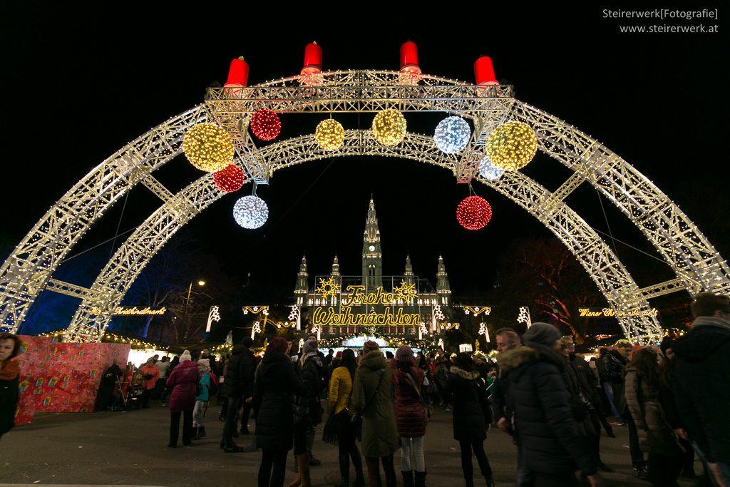 Christkindlmarkt Wien Einkaufen